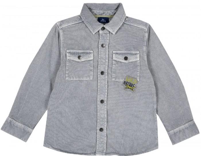 Рубашки Chicco Рубашка для мальчика с карманами