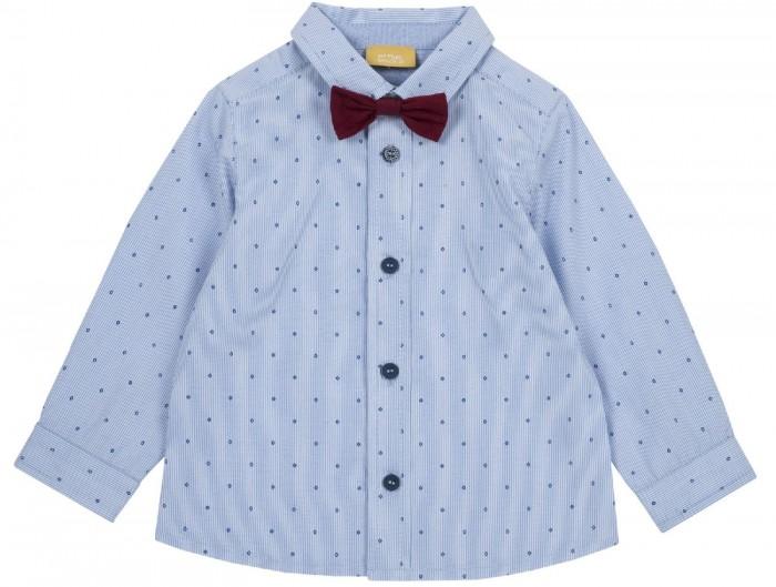 Купить Рубашки, Chicco Рубашка для мальчика в мелкий ромбик с бабочкой