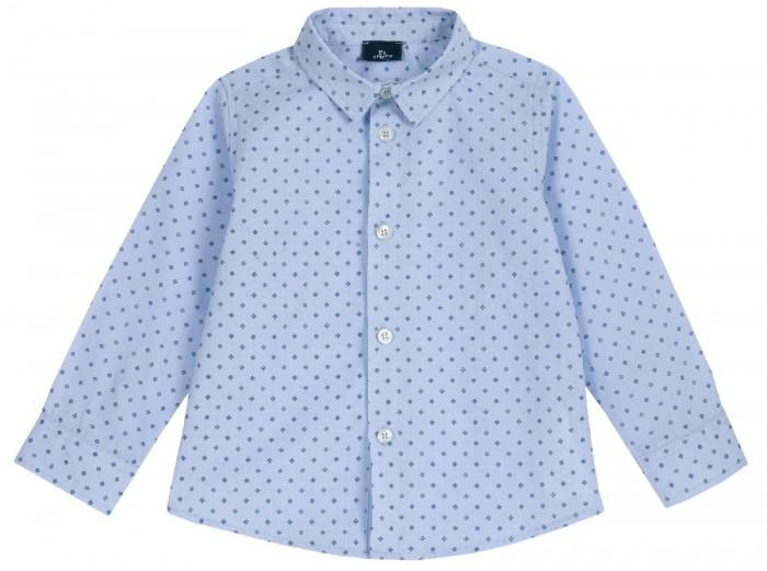 Рубашки Chicco Рубашка для мальчика в мелкий ромбик светлана райнгруберт зебра вромбик для детей иих родителей