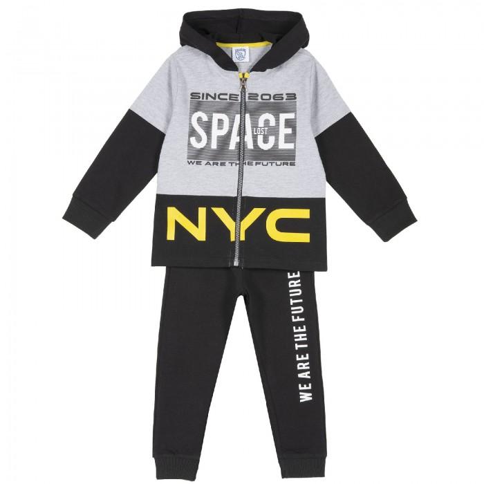 Chicco Спортивный костюм Space: толстовка, брюки фото