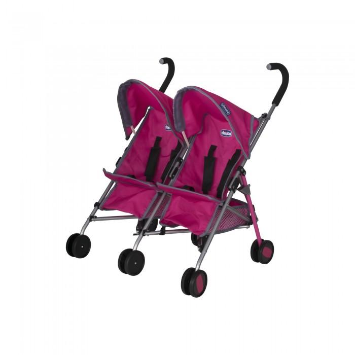 Коляска для куклы Chicco трость для двойни Echo Twin Stroller фото