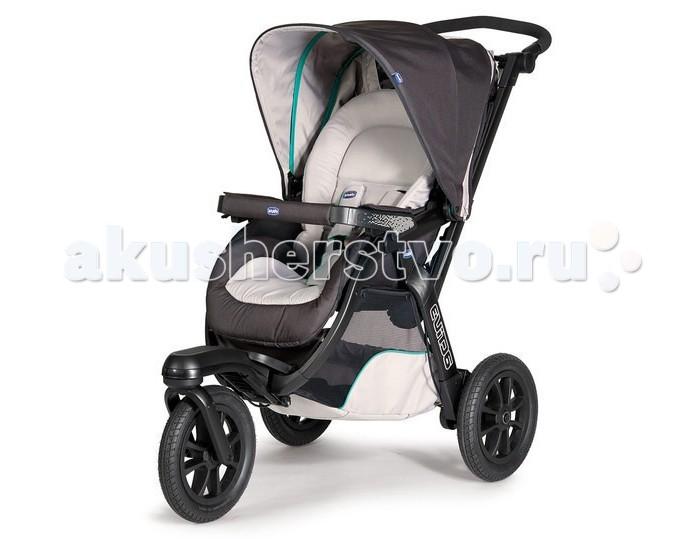 Прогулочная коляска Chicco Activ3Activ3Прогулочная коляска Chicco Activ3 - коляска повышенной комфортности.   Большие колеса позволяют путешествовать по бездорожью, а стильный дизайн не оставит равнодушными даже самых привередливых родителей.  Особенности прогулочной коляски (шасси):  четыре положения спинки сиденья легкий каркас из алюминиевых труб оригинальная конструкция рамы позволяет легко заезжать на бордюры и пр  удобная ручка с возможностью регулировки по высоте (95-112 см) регулировка подножки 2-ва положения спинка опускается в горизонтальное положение ручной тормоз и спаренный ножной стояночный тормоз переднее колесо вращается на 360° двухпозиционная система амортизации коляски дополнительный вкладыш с регулируемым по высоте подголовником  позволяет чувствовать себя комфортно ребенку любого возраста 5-ти точечный ремень безопасности для ребенка ультракомпактная в сложенном виде корзина для покупок дорожный карман для мелочей дождевик в комплекте.  Размеры:  Высота спинки сиденья: 50 см Длина сиденья от спинки до колена: 27 см Ширина плеч: 28 см Длина от колен до ступней: 14 см Ширина ниши для ног: 20 см.<br>