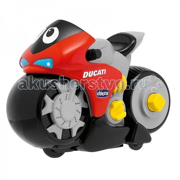 Машины Chicco Мотоцикл Ducati Turbo Touch со сменной панелью детская косметика star wars жидкое мыло 300 мл