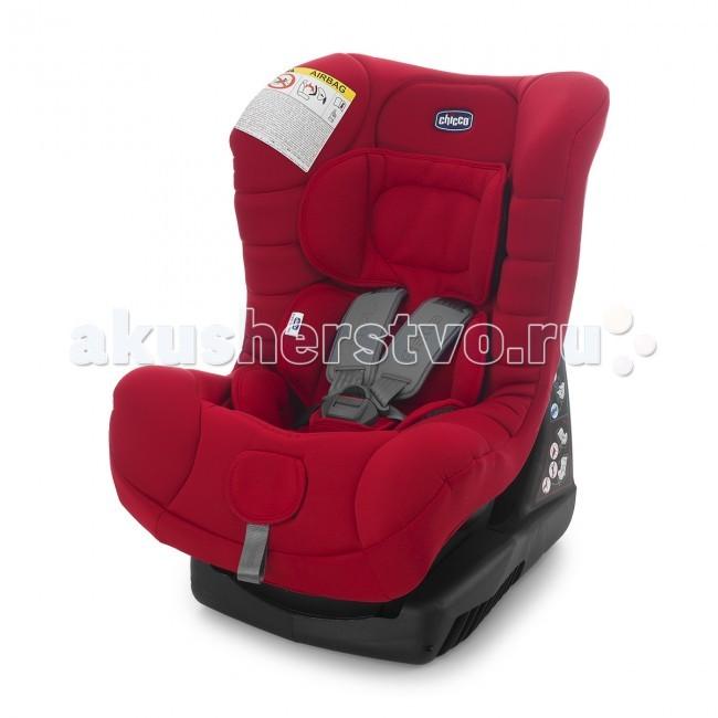 Автокресло Chicco Eletta ComfortEletta ComfortАвтокресло Chicco Eletta Comfort возрастной группы 0+/1, предназначенное для перевозки детей от рождения до 3.5-4 лет. Мягкий вкладыш придает, дополнительный комфорт и выравнивает поверхность, на которой лежит ребенок. Кресло имеет регулировку по наклону, что позволяет ребенку спать во время поездки.  Сидение: соответствует европейскому стандарту безопасности ЕСЕ/04, группа 0+/1, для детей весом от 0 до 18 кг относится к категории автокресел высокого уровня благодаря широкому и комфортному сидению со спинкой корпус автокресла имеет высокие борта, которые обеспечивают надежную защиту головы малыша в случае бокового удара автокресло оснащено собственной базой, благодаря которой можно менять угол наклона кресла так, чтобы вашему малышу было удобно различный угол наклона сидения (4 положения) регулируемые пятиточечные ремни безопасности с мягкими накладками широкие ремни не перекручиваются благодаря вставке антискольжения подушка-вкладыш автокресла гарантирует безопасность и комфорт для самых маленьких (до 6 кг) и обеспечивает оптимальную позицию для ребенка сидение автокресла обшито очень мягкой обивкой тканевые детали снимаются для чистки и стирки  Крепление: для группы 0+ устанавливается против направления движения (с помощью штатных ремней автомобиля) от 0 до 13 кг (приблизительно до 15 месяцев) для группы 1 - по направлению движения (с помощью штатных ремней безопасности автомобиля) от 9 до 18 кг<br>
