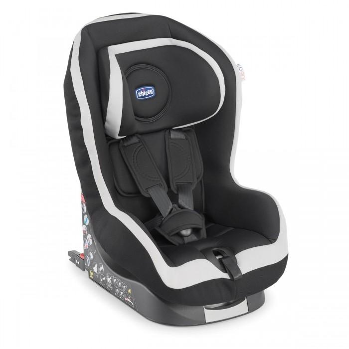Автокресло Chicco Go-one IsofixGo-one IsofixАвтомобильное кресло Chicco Go-one Isofix группы 1 предназначено для перевозки в автомобиле детей весом от 9 до 18 кг (от 1 до 4 лет). Соответствует европейскому стандарту безопасности ECE R44/04.  Безопасность обеспечивают противоударная конструкция с прослойкой, поглощающей силу удара, и собственный ремень безопасности, имеющий единую систему натяжения и регулирующийся по росту ребенка.  Система Isofix позволяет установить детское автомобильное кресло в автомобиль с помощью жесткой основы (не используя ремни безопасности автомобиля). Это гарантирует максимальную безопасность и защиту в случае ДТП.   Благодаря эксклюзивной системе безопасности, подголовники, прикрепленные к ремням безопасности, можно легким движением установить на одну из 6 позиций. Это обеспечивает комфорт и безопасность матери и ребенка.  Сидение автокресла можно установить в 5 разных положениях, чтобы путешествовать легко и спокойно. Оббивка чехла выполнена из качественных дышащих и мягких тканей. Уникальная и самая надежная система крепления детского автомобильного кресла к сидению автомобиля Isofix, которая минимизирует риск неправильной установки автомобильного кресла.  Дополнительная фиксация с помощью специального ремня TopTether. Новые экстра крепкие плечевые ремни, которые не скручиваются и обеспечивают ребенку необходимый комфорт.  Chicco Go-one гарантирует удобство для родителей - чехол можно легко снять для стирки без задействования ремней. Это экономит время и предупреждает риск последующей неправильной установки ремней.<br>