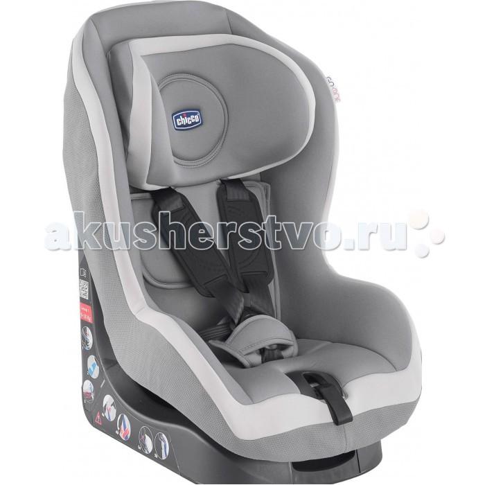 Автокресло Chicco Go-oneGo-oneАвтомобильное кресло Chicco Go-one группы 1 предназначено для перевозки в автомобиле детей весом от 9 до 18 кг (от 1 до 4 лет). Соответствует европейскому стандарту безопасности ECE R44/04.  Безопасность обеспечивают противоударная конструкция с прослойкой, поглощающей силу удара, и собственный ремень безопасности, имеющий единую систему натяжения и регулирующийся по росту ребенка.  Благодаря эксклюзивной системе безопасности, подголовники, прикрепленные к ремням безопасности, можно легким движением установить на одну из 6 позиций. Это обеспечивает комфорт и безопасность матери и ребенка.  Сидение автокресла можно установить в 5 разных положениях, чтобы путешествовать легко и спокойно. Оббивка чехла выполнена из качественных дышащих и мягких тканей. Новые экстра крепкие плечевые ремни, которые не скручиваются и обеспечивают ребенку необходимый комфорт.  Chicco Go-one гарантирует удобство для родителей - чехол можно легко снять для стирки без задействования ремней. Это экономит время и предупреждает риск последующей неправильной установки ремней.<br>