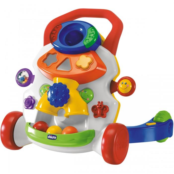 Ходунки Chicco Игровой центр 2 в 1Игровой центр 2 в 1Игровой центр «Ходунки» поможет ребенку встать на ножки и сделать первые уверенные шаги. Достаточно опереться, начать шагать и тут же игрушка начинает играть веселый твист, который прекращается, как только ребенок останавливается, что побуждает малыша шагать дальше. Это еще и игровой центр, который стимулирует фантазию ребенка и помогает ему совершенствовать движения посредством забавных игр, огоньков и веселых звуков.  Возраст: 9 мес.+ Питание: 2 х АА 1.5В (нет в комплекте)  Размер в упаковке: 48.5 х 15 х 40 см<br>