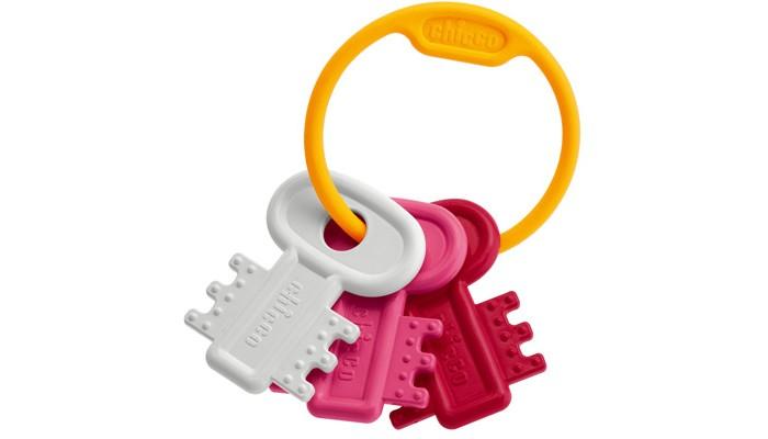 Погремушки Chicco Ключи на кольце погремушки и прорезыватели chicco