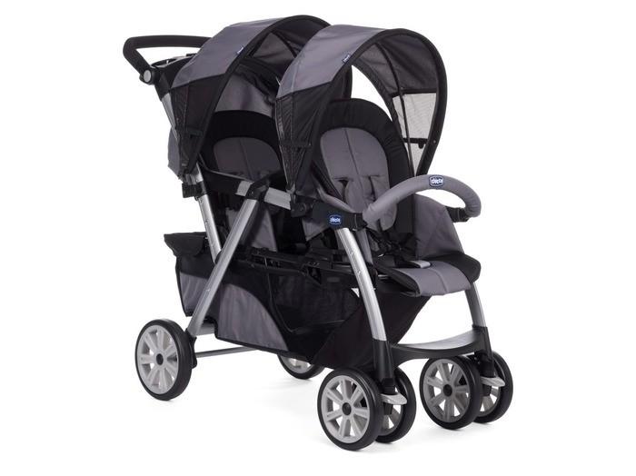 Детские коляски , Коляски для двойни и погодок Chicco Коляска для двойни Together Twin арт: 44795 -  Коляски для двойни и погодок