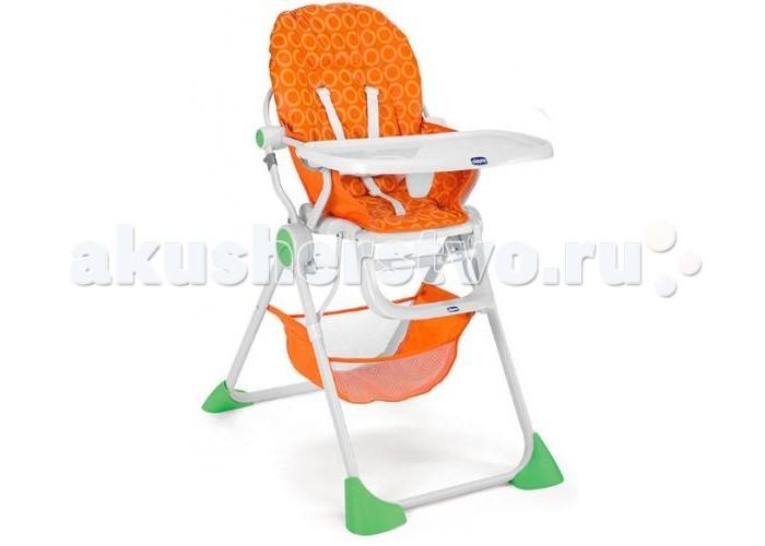 Стульчик для кормления Chicco Pocket LunchPocket LunchСтульчик для кормления Chicco Pocket Lunch – удобный вариант для кормления малышей.  Особенности: Столешницу можно передвигать вперед и назад, она легко снимается для мойки и чистки. Чтобы обеспечить комфортный отдых после еды, в стульчике предусмотрена возможность наклона спинки в трех положениях. Для предотвращения падения ребенка со стула, он оборудован регулируемым 5-ти точечным ремнем. Устойчивость стула обеспечивается за счет широких ножек. Компактный и легкий каркас складывается в конструкцию толщиной всего 25 см. Стульчик для кормления имеет корзинку под сидением, в которой можно хранить игрушки и необходимые аксессуары. Максимальный вес ребенка: 15 кг.<br>