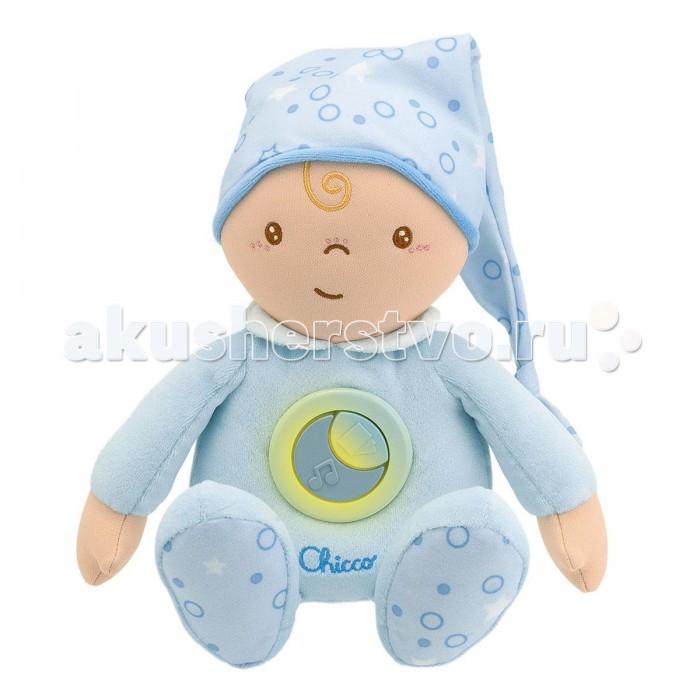Мягкая игрушка Chicco Сладкие сны 242810/242820Сладкие сны 242810/242820Кукла Chicco Сладкие сны. Первый мягкие игрушки, которые малыши могут обнимать и гладить, успокаивающие детей своей приятной музыкой.   Приятная колыбельная и тихий ночник включаются нажатием на центральную кнопку. Можно стирать в стиральной машине.<br>