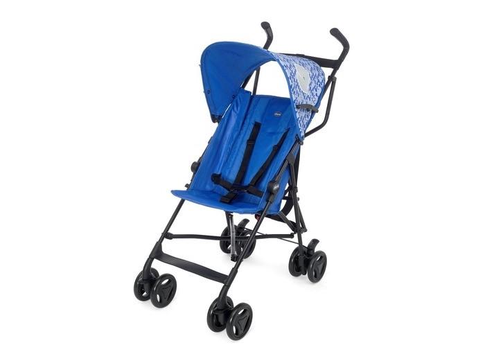 Коляска-трость Chicco SnappySnappyChicco Snappy stroller - одна из самых легких колясок в своем  классе. Современная и универсальная, простая в упралении коляска-трость. Удобные  эргономичные ручки, инновационная жесткая подставка для ног и двойные колеса с  эксклюзивным дизайном. Козырек для максимальной защиты от солнца. Коляска имеет компактный легкий каркас и зонтичную систему складывания (трость). Идеально подходит для города, а также во время поездок на отдых.  Характеристики Chicco Snappy stroller:  Предназначена для детей от 6 до 36 месяцев  Максимальная безопасность фиксации малыша  Спинка фиксируется в двух положениях  5-ти точечный ремень  Двойная система торможения  Двойная система запирания  Автоматическая защелка блокирует коляску в сложенном виде  Размер в сложенном виде: 22 х 32 х 112 см  Вес: 5,7 кг<br>