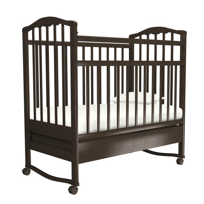 Картинка для Детская кроватка Агат Золушка-2 качалка с ящиком