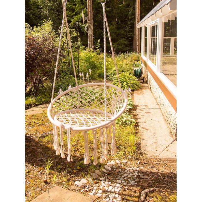 Качели Чудесный Сад Кресло-Макраме 80 см