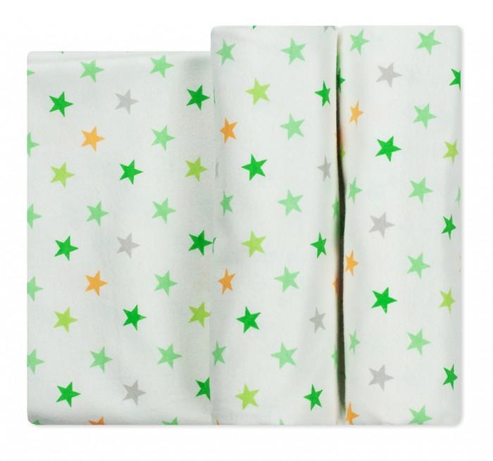Пеленка Чудо-чадо для новорожденных фланелевая Тренды Звезды 2 шт.