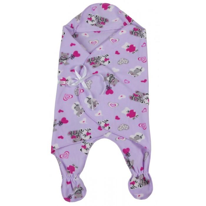 Купить Конверты для новорожденных, Чудо-чадо Конверт-одеяло БыстрОдежка Эльф с принтом флис