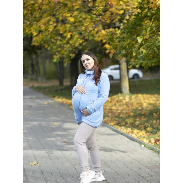 Слингокуртки Чудо-чадо Слингокуртка флисовая Мама плюс, Слингокуртки - артикул:325919
