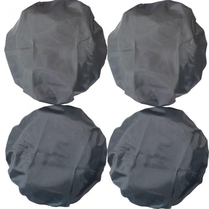 аксессуары для колясок roxy чехлы на колеса в сумке 4 шт Аксессуары для колясок Чудо-чадо Чехлы на колеса коляски 4 шт. d 18-28 см