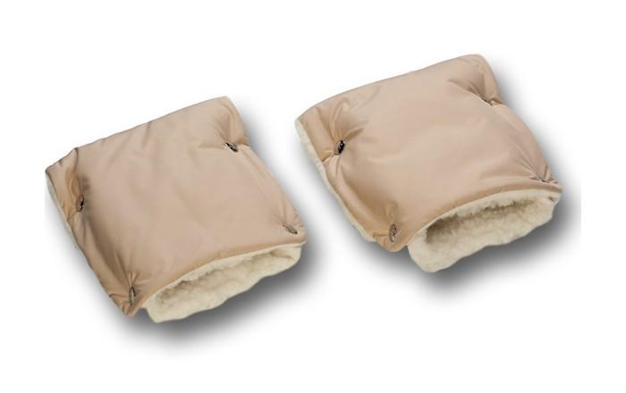 Детские коляски , Муфты для рук Чудо-чадо Муфты-рукавички меховые однотонные арт: 256125 -  Муфты для рук