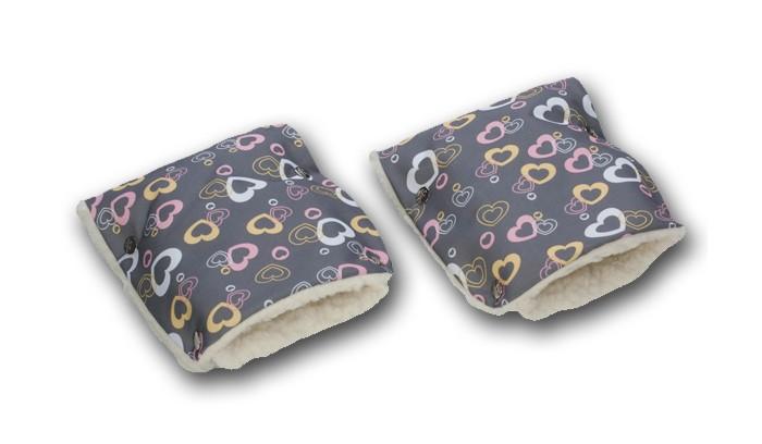 Муфты для рук Чудо-чадо Муфты-рукавички меховые lace halter faux leather bra set