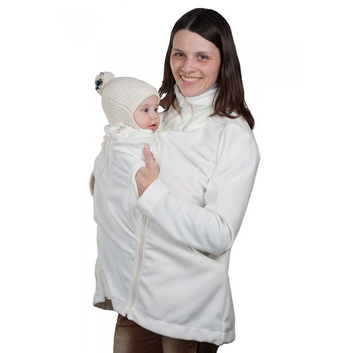 Чудо-чадо Слингокуртка флисовая Мама плюсСлингокуртка флисовая Мама плюсЧудо-чадо Слингокуртка флисовая Мама плюс пригодится Вам и в первые пару лет после рождения малыша (пока вы носите его в слинге или рюкзаке), и во время беременности, и в «обычном» состоянии. Мы выбрали флис очень достойного качества и разработали новую модель, ориентируясь на пожелания опрошенных родителей. Обратите внимание, что в этой куртке можно носить даже лежа! Качество слингокуртки «Мама плюс» проверено собственными сотрудниками и их детьми - они остались довольны J.  Итак, метаморфозы, особенности и преимущества слингокуртки «Мама плюс»: Удлинённая куртка для «обычной» жизни, с женственным приталенным силуэтом. Имеет высокий двойной воротник – защитит от холодного ветра не только шею, но и нос (в расстегнутом  или подвёрнутом виде тоже смотрится прекрасно). Есть объёмные карманы.  Куртка со вставкой для беременных. Обладает всеми достоинствами обычной куртки, плюс позволяет носить её во время беременности благодаря специальной пристёгиваемой вставке. С такой вставкой в куртке будет комфортно даже большому животику на последних сроках!  Самое главное – слингокуртка! Основная особенность нашей куртки – это конструкция вставки для ребёнка. Мы сделали вставку с широкой, свободной детской горловиной. Во-первых, теперь малыша можно одеть в куртку и вынуть из нее, не потревожив. Даже спящим, в шапке и капюшоне! Во-вторых, теперь горловина не ограничивает высоту расположения ребенка – его можно посадить выше или ниже, как маме удобнее. А подросший ребенок сможет вытащить наружу ручки (конечно, если он достаточно тепло одет и если мама разрешит). Горловина утягивается на нужный размер кулиской, исключая поддувание. Сама слинговставка имеет объем достаточный, чтобы спящего малыша можно было спрятать за пазуху с головой, а если малыш не очень крупный – даже уложить его в горизонтальное положение. Верхняя часть слинговставки цельная: перед личиком малыша нет никаких лишних застежек и липучек.  А но