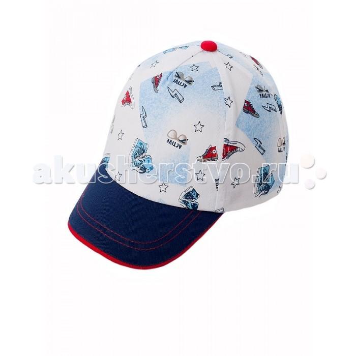 Шапочки и чепчики Чудо-Кроха Бейсболка для мальчика BC-519 чудо кроха шляпка