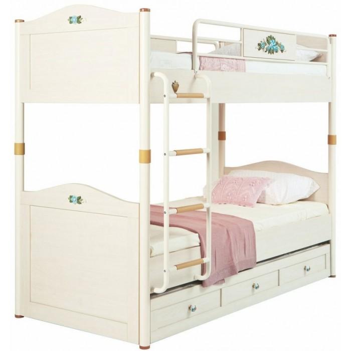 Кровати для подростков, Подростковая кровать Cilek двухъярусная Flora  - купить со скидкой