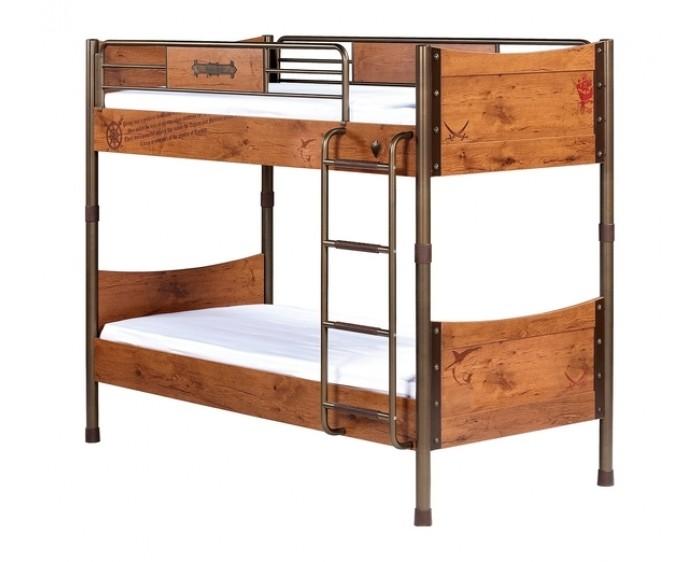 Купить Кровати для подростков, Подростковая кровать Cilek двухъярусная Pirate