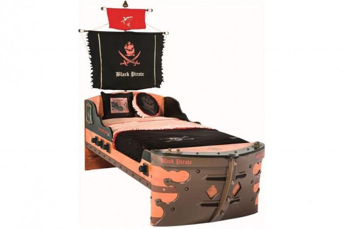 Купить Кровати для подростков, Подростковая кровать Cilek корабль Black Pirate