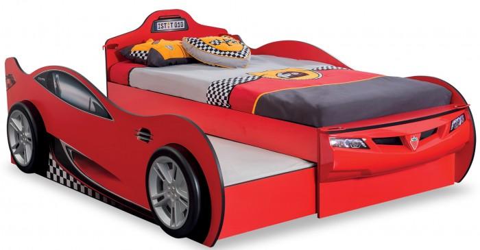 Купить Кровати для подростков, Подростковая кровать Cilek двухместная Машина Racecup