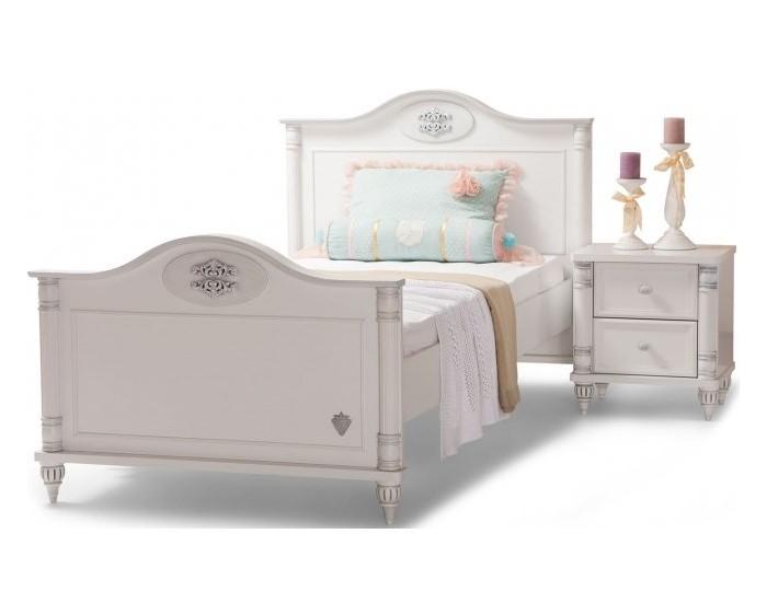 Купить Кровати для подростков, Подростковая кровать Cilek Romantic 100x200 см