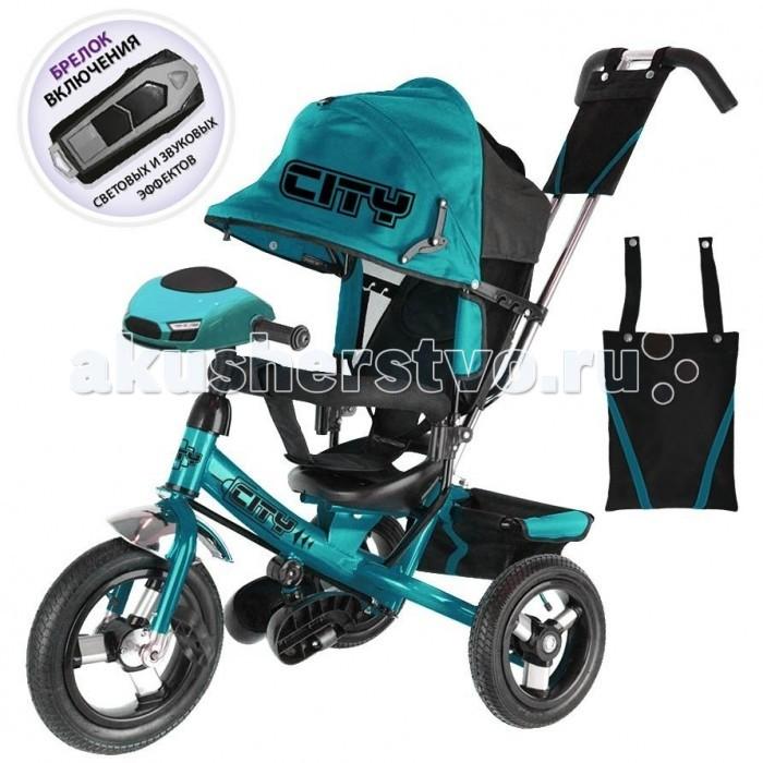 Детский транспорт , Трехколесные велосипеды City 10/8 с пультом арт: 533171 -  Трехколесные велосипеды