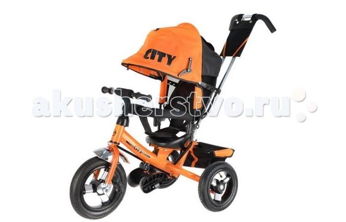 """Велосипед трехколесный City JD7 надувные колеса 12""""/10"""""""