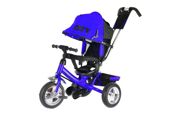 Детский транспорт , Трехколесные велосипеды City JD7 пластиковые колеса 10/8 арт: 370148 -  Трехколесные велосипеды