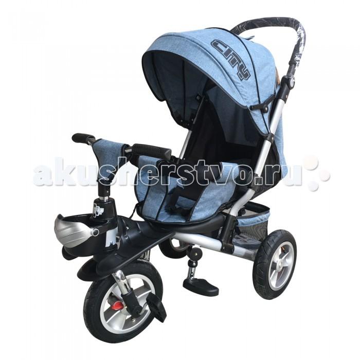 Детский транспорт , Трехколесные велосипеды City JD8 арт: 369958 -  Трехколесные велосипеды