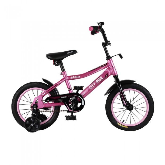 Велосипед двухколесный City Ride Spark 14