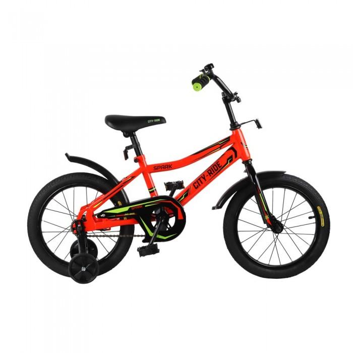 Велосипед двухколесный City Ride Spark 16