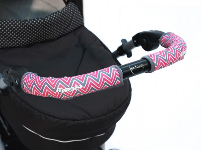Аксессуары для колясок Choopie Чехлы CityGrips на ручку универсальной коляски длинные