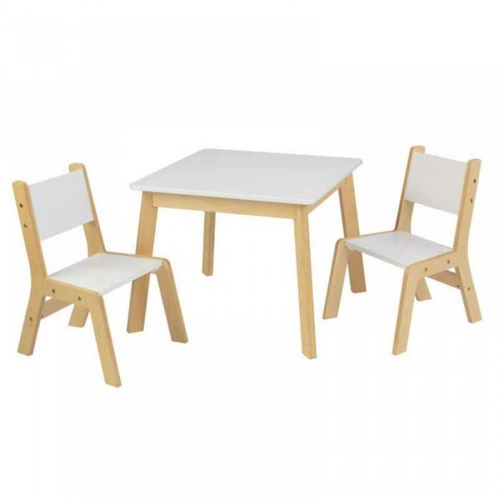 KidKraft Набор Стол и 2 стула Модерн.