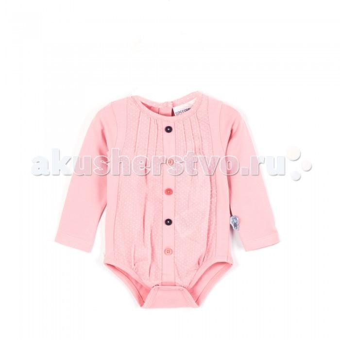 Детская одежда , Боди и песочники Coccodrillo Боди для девочки Im so quiet арт: 380009 -  Боди и песочники