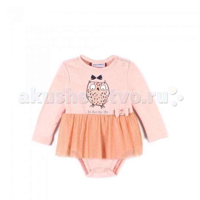Детская одежда , Боди и песочники Coccodrillo Боди для девочки Family Forest арт: 393914 -  Боди и песочники