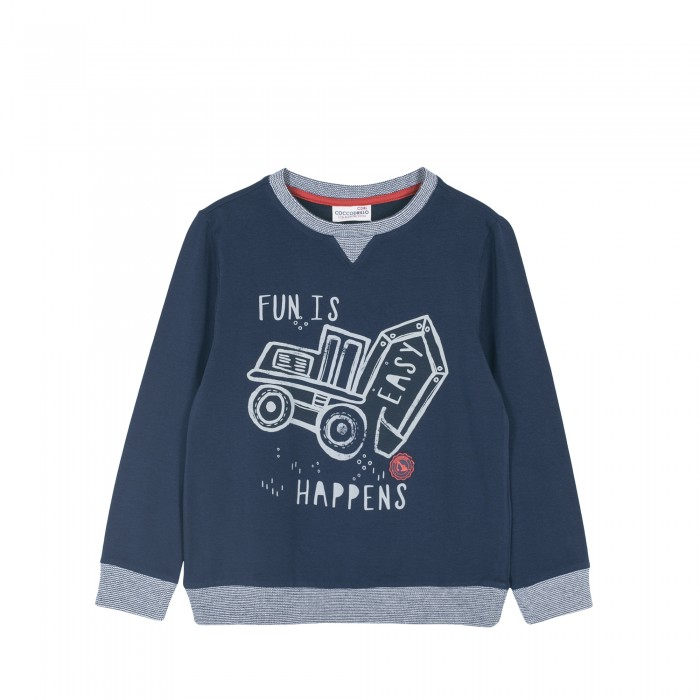 Джемперы, свитера, пуловеры Coccodrillo Джемпер для мальчика Cool, Джемперы, свитера, пуловеры - артикул:593234