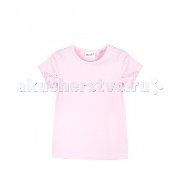 Футболки и топы Coccodrillo Футболка Basic Girl W1814320 топы и футболки