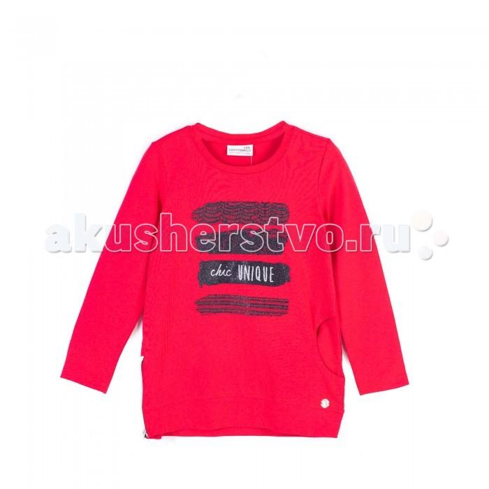 Детская одежда , Футболки и топы Coccodrillo Футболка для девочки Chic Unique J17144101CHI-009 арт: 412554 -  Футболки и топы