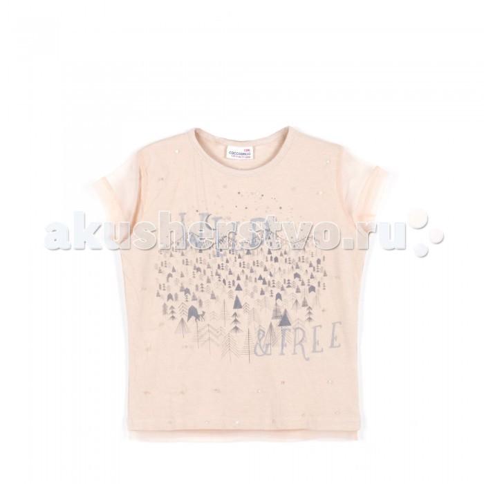 Детская одежда , Футболки и топы Coccodrillo Футболка для девочки Icy Wasterlands арт: 379969 -  Футболки и топы