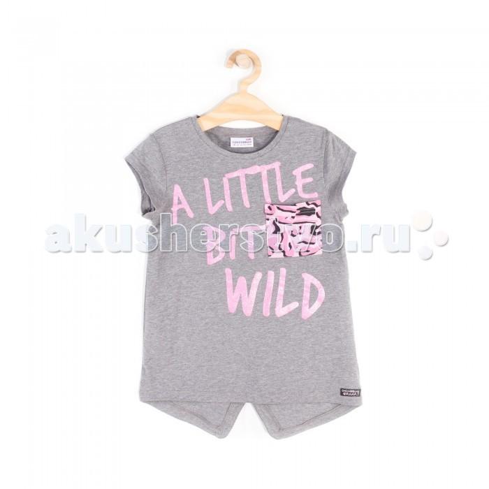 Футболки и топы Coccodrillo Футболка для девочки Little Bit Wild L18143204LIT little bit of chakras