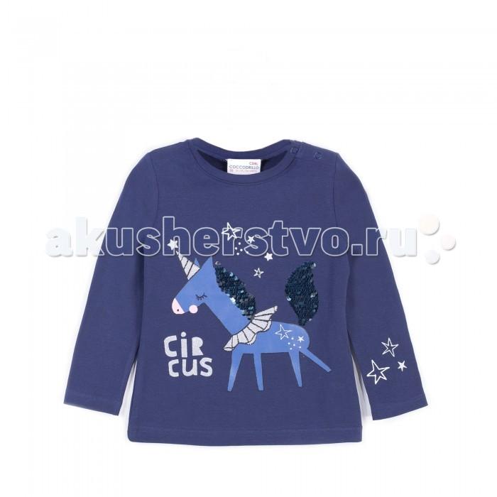 Детская одежда , Футболки и топы Coccodrillo Футболка для девочки Magic is all around J17143103MAG-015 арт: 409589 -  Футболки и топы
