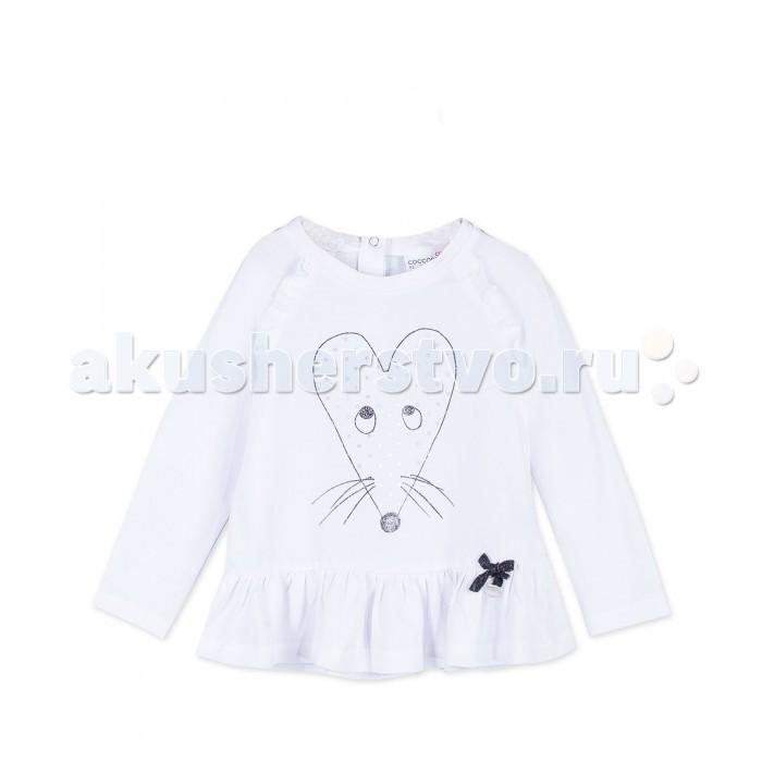Детская одежда , Футболки и топы Coccodrillo Футболка для девочки Mouse J17143104MOU-001 арт: 410569 -  Футболки и топы