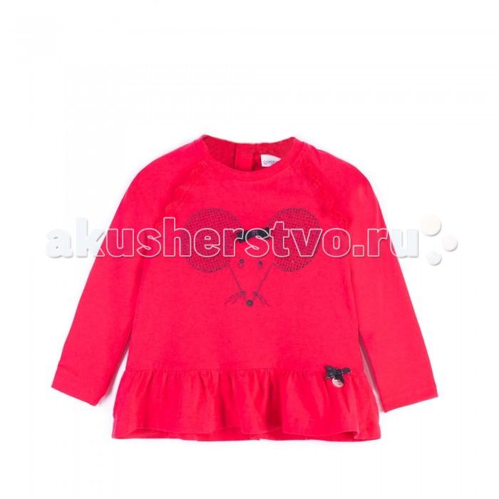 Детская одежда , Футболки и топы Coccodrillo Футболка для девочки Mouse J17143105MOU-009 арт: 410579 -  Футболки и топы