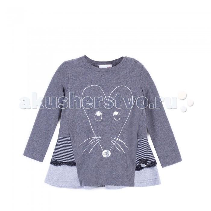 Детская одежда , Футболки и топы Coccodrillo Футболка для девочки Mouse J17144101MOU-019 арт: 410594 -  Футболки и топы